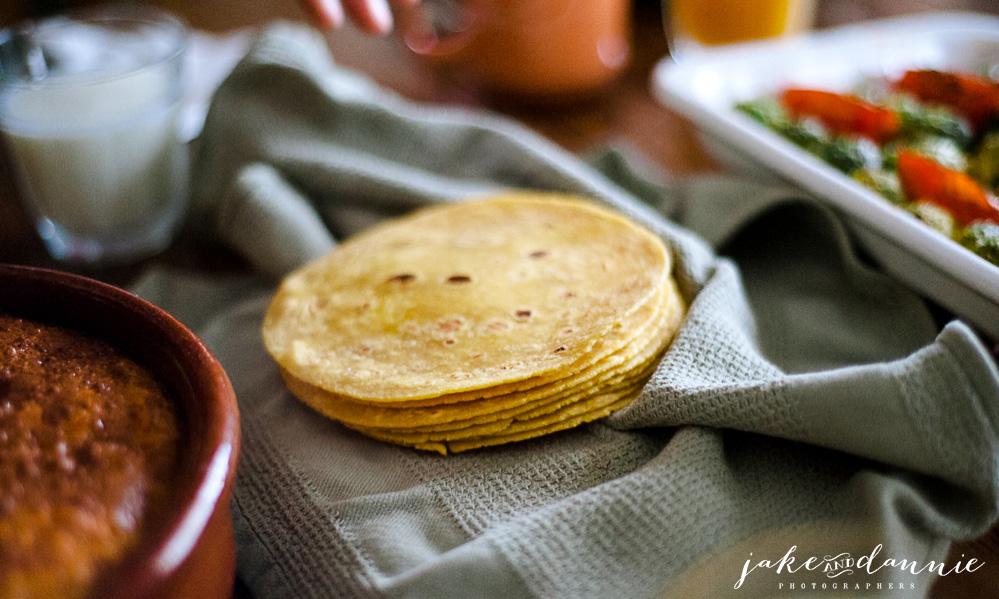 tortilla shells that were served with the vegetable frittata we had for breakfast